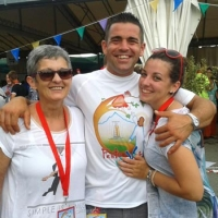 Mama Virna en papa Claudio
