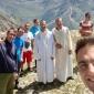 ... op de berg Monte Ferra